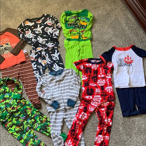 Other - 7 boys pajama sets